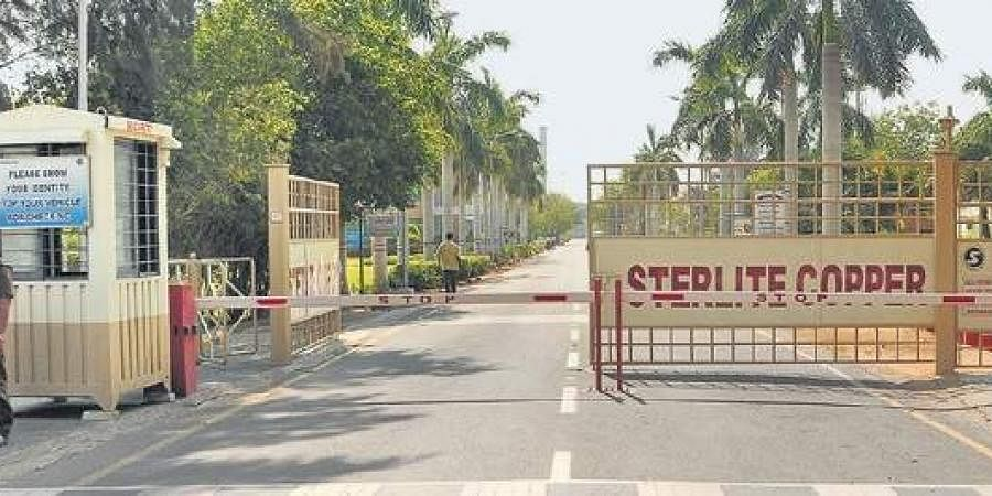 A view of Vedanta's Sterlite copper unit in Thoothukudi, which has remained closed since the firing