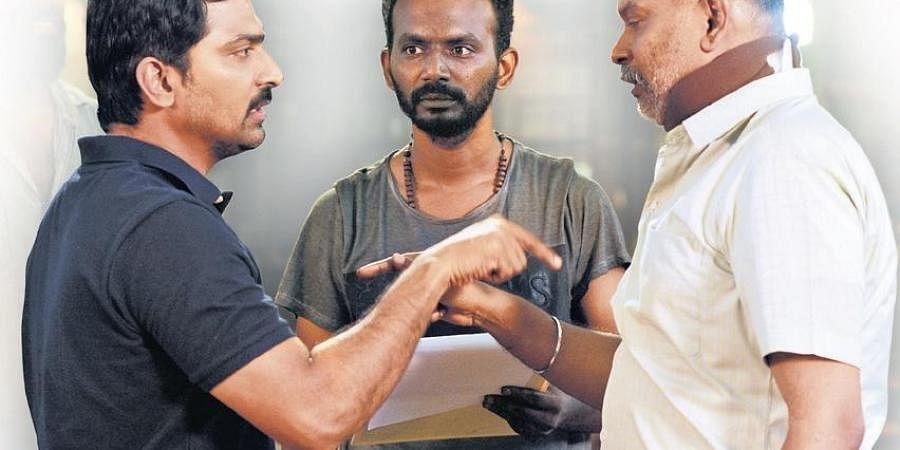 SG Charles with Vaibhav and Venkat Prabhu