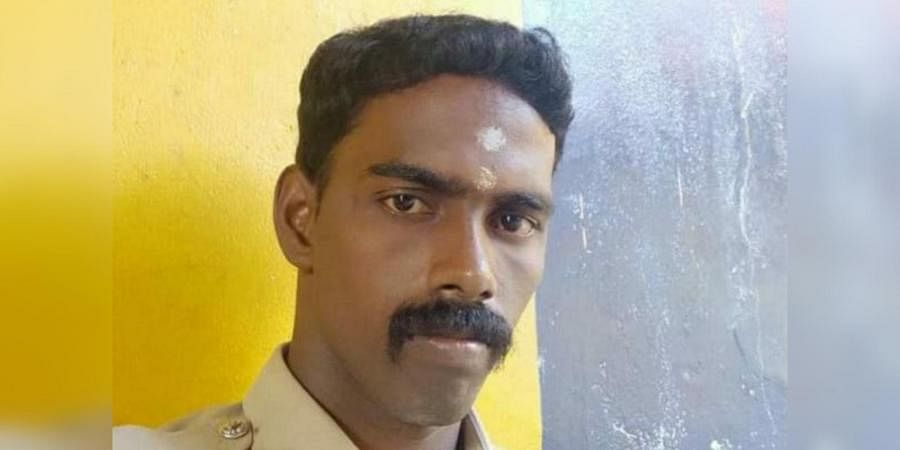 Martyred Thoothukudi police constable Subramanian
