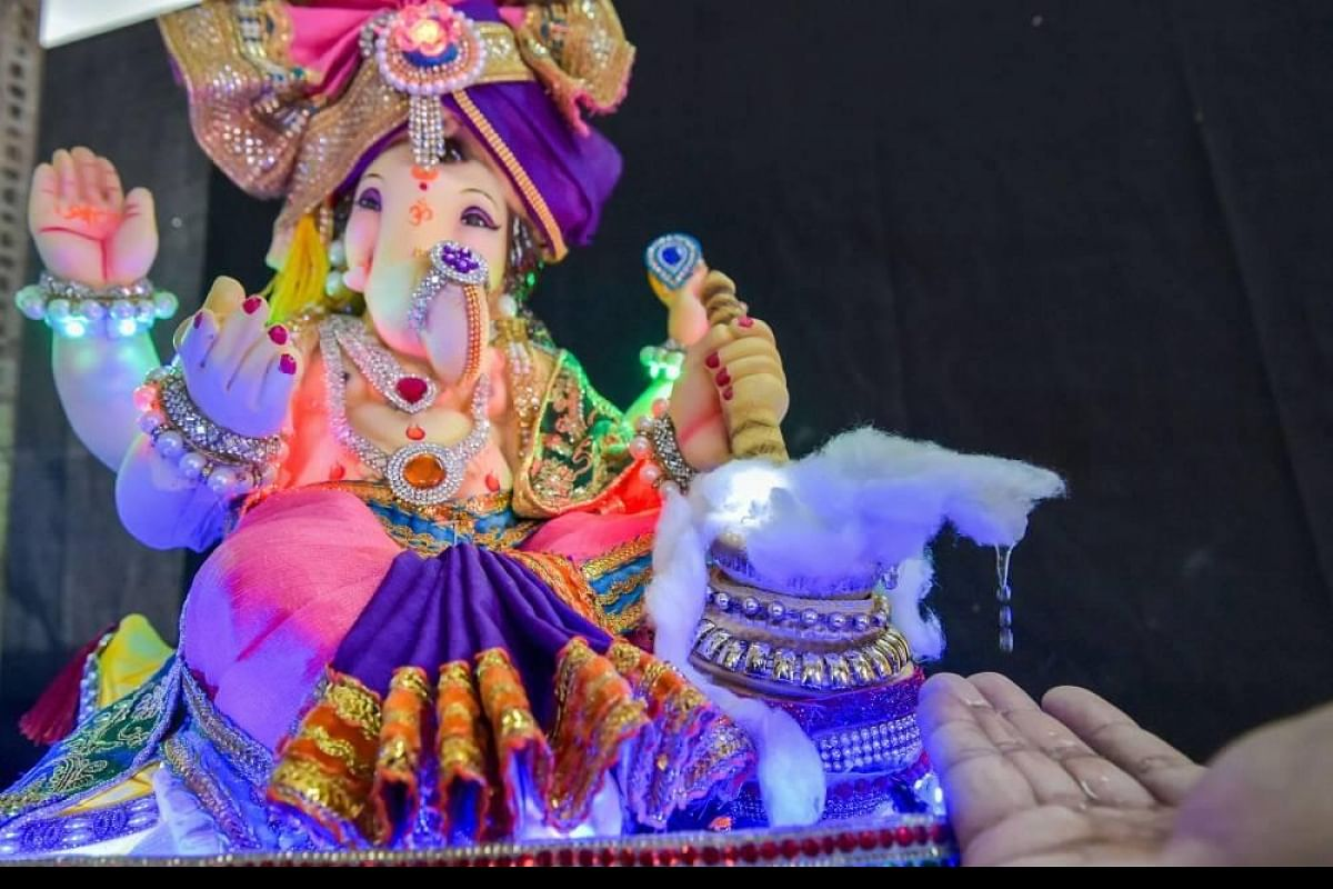 Ganpati Bappa Goes Online In Covid 19 Times With Zoom Facebook Google Arti The New Indian Express