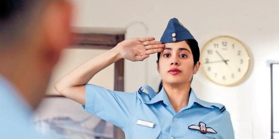 Jhanvi Kapoor S Gunjan Saxena Raises Controversy Equal Isn T Same As Identical The New Indian Express