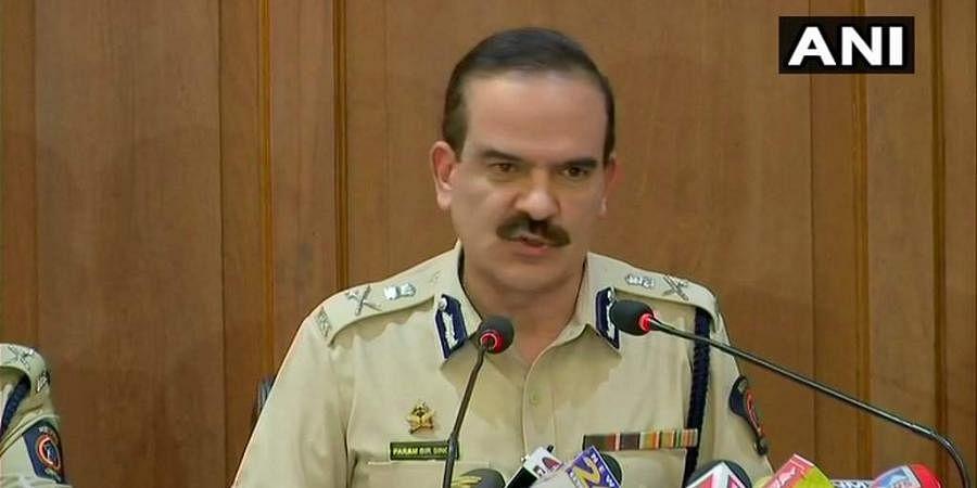 Mumbai Police Commissioner Parambir Singh (File Photo| ANI)
