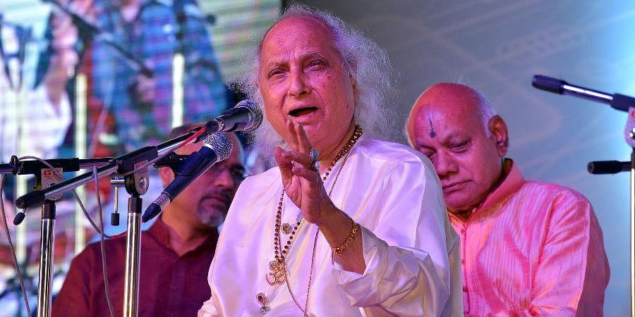 Late Indian classical vocalist Pandit Jasraj