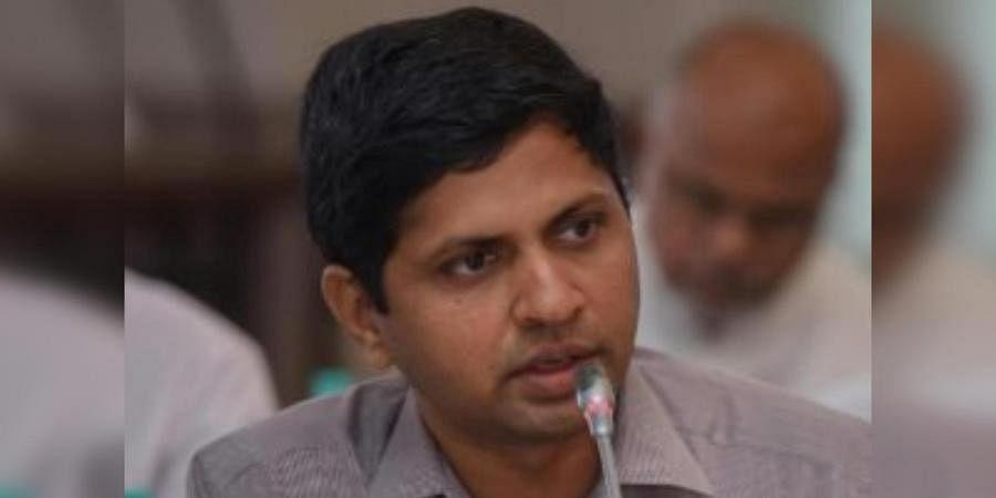 Andhra Pradesh Health Commissioner Katamaneni Bhaskar