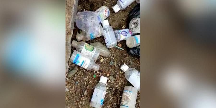 Sanitisers consumed by the people of Prakasam district