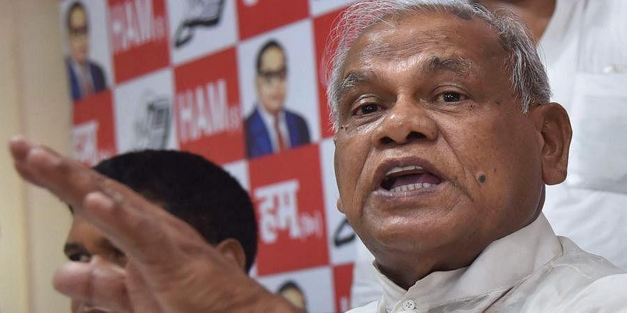 HAM president Jitan Ram Manjhi