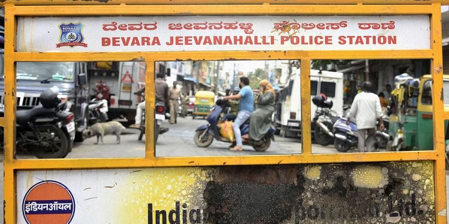The streets of DJ Halli and surrounding areas returned to normal after prohibitory orders were lifted, in Bengaluru