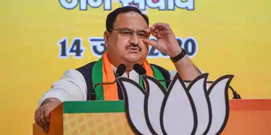BJP chief JP Nadda