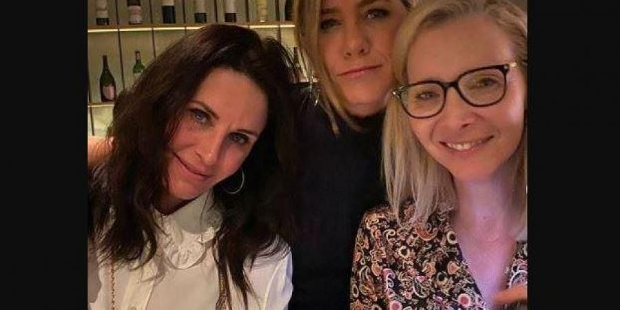 Hollywood star Jennifer Aniston shared a video playing a friendly game of pool with 'Friends' co-star Courteney Cox.