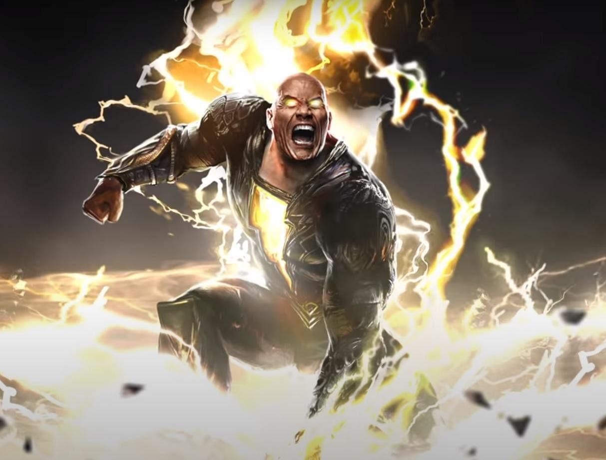 Dwayne 'The Rock' in a first look trailer is seen as a supervillain, 'Black Adam' hailing from 'Khandaq'.