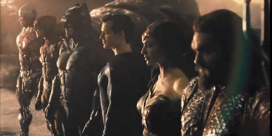 A scene from Snyder Cut, Justice League.