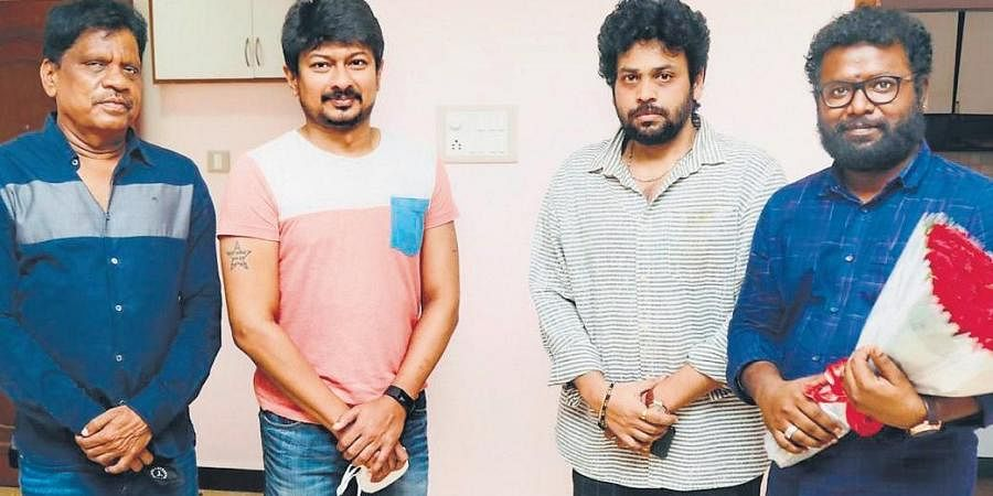 The latest update is that Kanaa director Arunraja Kamaraj has been tapped to direct the Tamil version, which will have Udhayanidhi Stalin reprising the lead role played by Ayushmann Khurrana