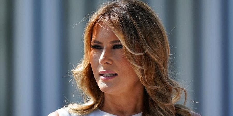 Melania Trump Taking Rose Garden Turn To Pitch Her Husband The New Indian Express