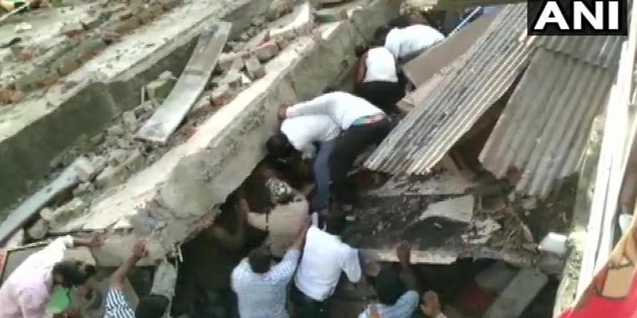 Three-storey residential building collapses in Dewas