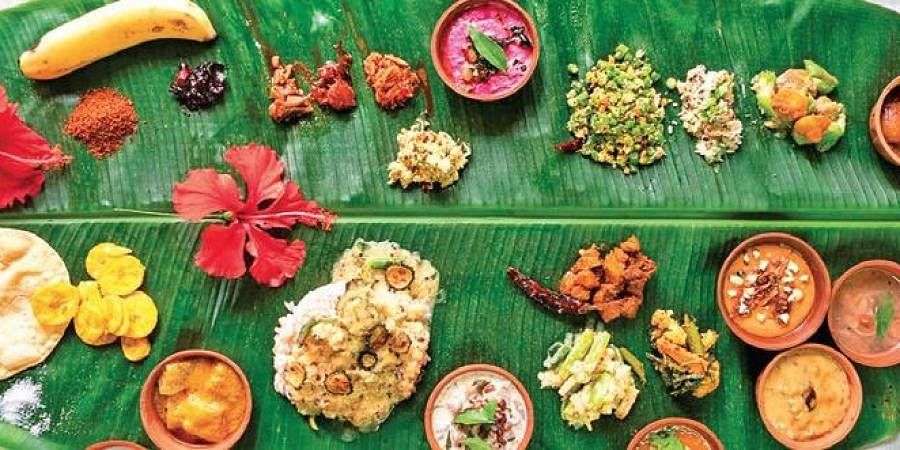 An Onam Sadhya by The Soul Company