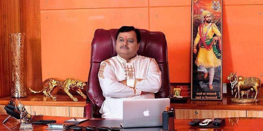Sudarshan News Editor-in-Chief Suresh Chavhanke