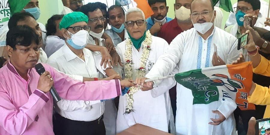 Tushar Kanti Bhattacharya. (Photo | TMC)