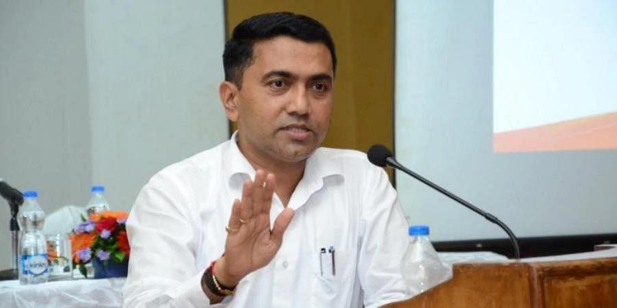 Goa CMPramod Sawant
