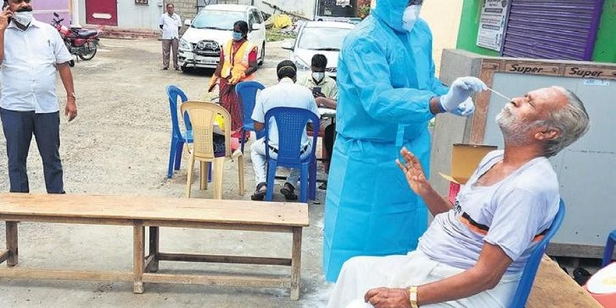 Swab tests being conducted in Vellore on Wednesday