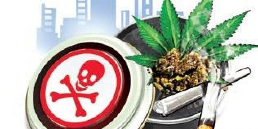 Drugs, Drug peddling, Ganja