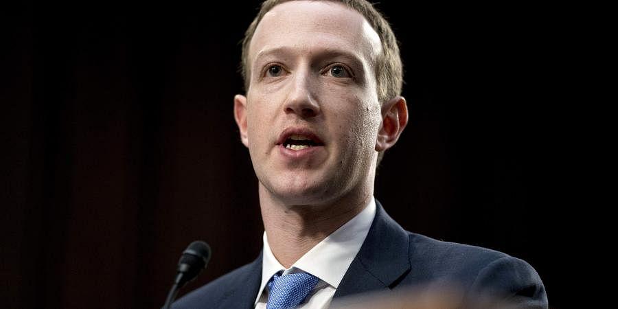 Facebook CEO Mark Zuckerberg (File Photo| AP)