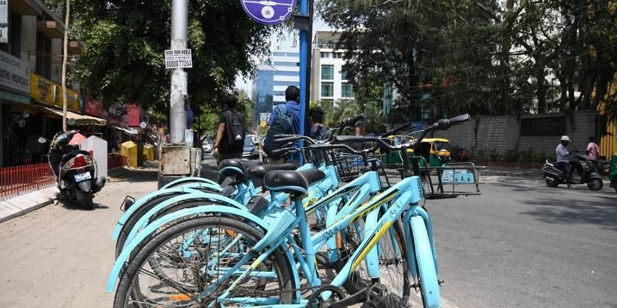 cycles on rent, vehicles on rent
