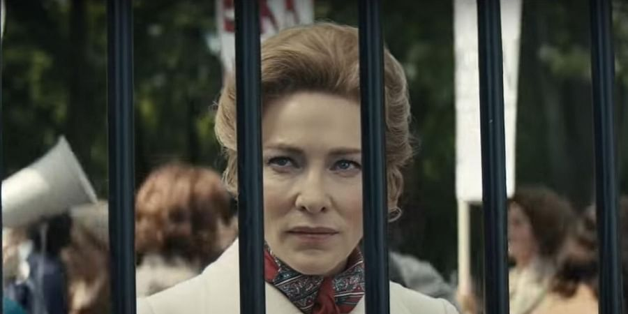 Blanchett plays Phyllis Schlafly in the series 'Mrs America'.