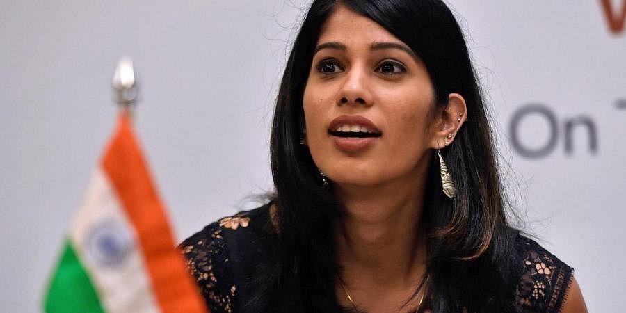 Indian squash star Joshna Chinappa