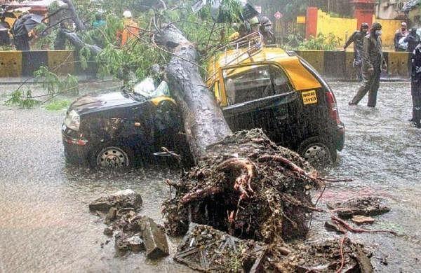 Rain records 20-year high in South Mumbai