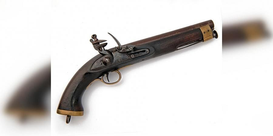 The 19th century UK-made pistol that was used by the army of Nizam of Hyderabad