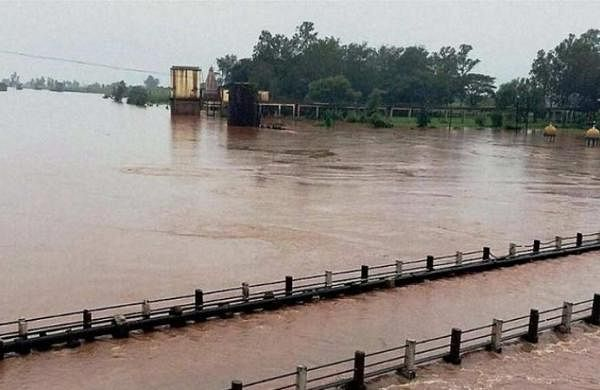 Panchaganga river still flowing above danger mark in Maharashtra
