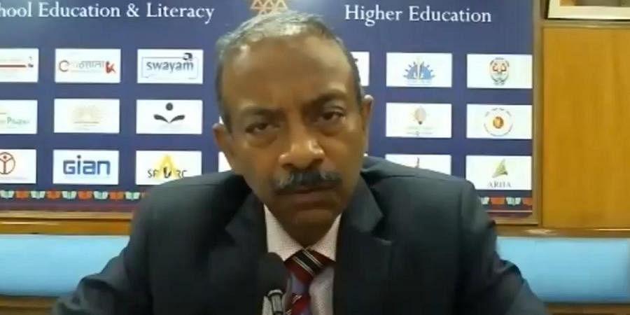 Union Higher Education secretary Amit Khare
