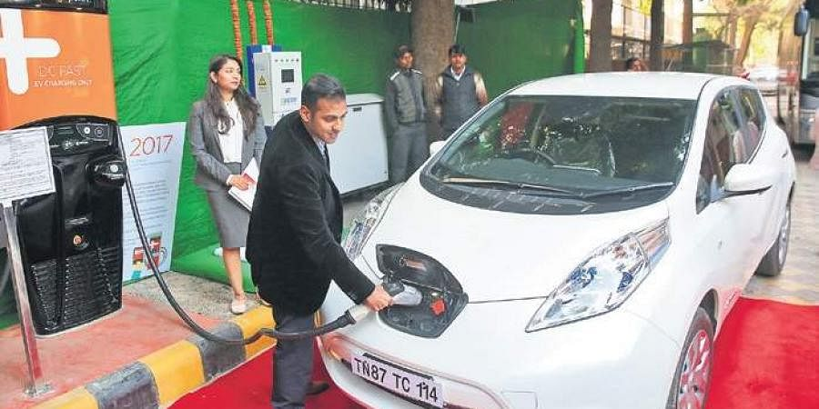 Over 35,000 electric vehicles and several public charging stations are likely to come up in the city in the future.