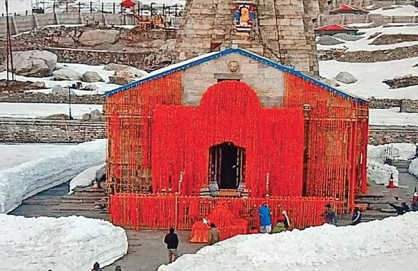Kedarnath Yatra halted due to landslides, over 50 pilgrims trapped