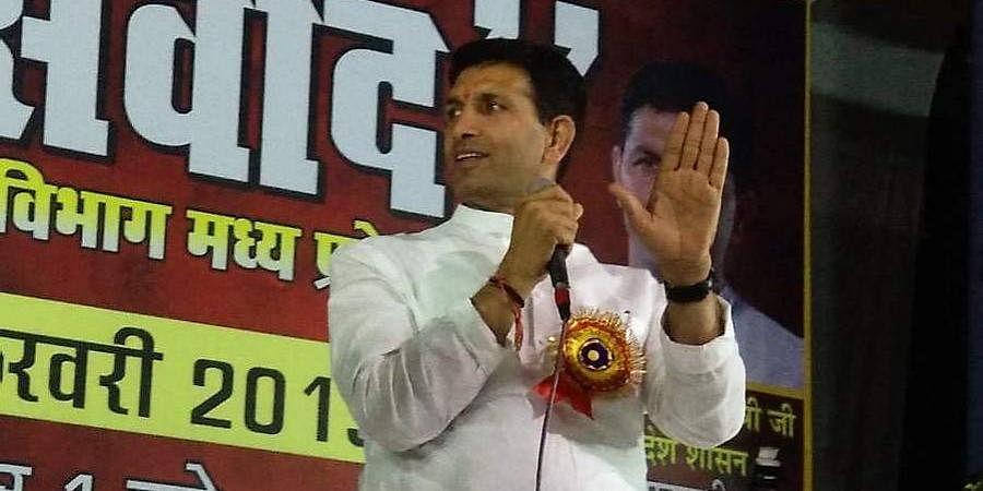 Madhya Pradesh Sports and Youth Welfare Minister Jitu Patwari