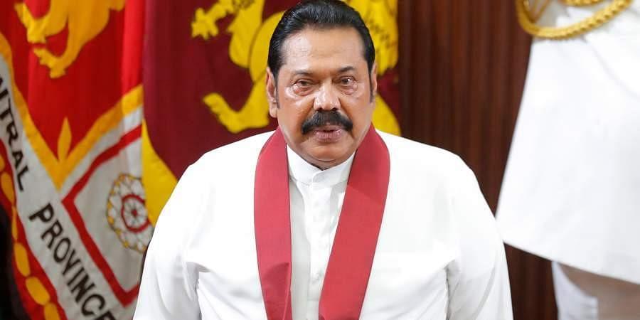 Sri Lanka new PM Mahinda Rajapaksa