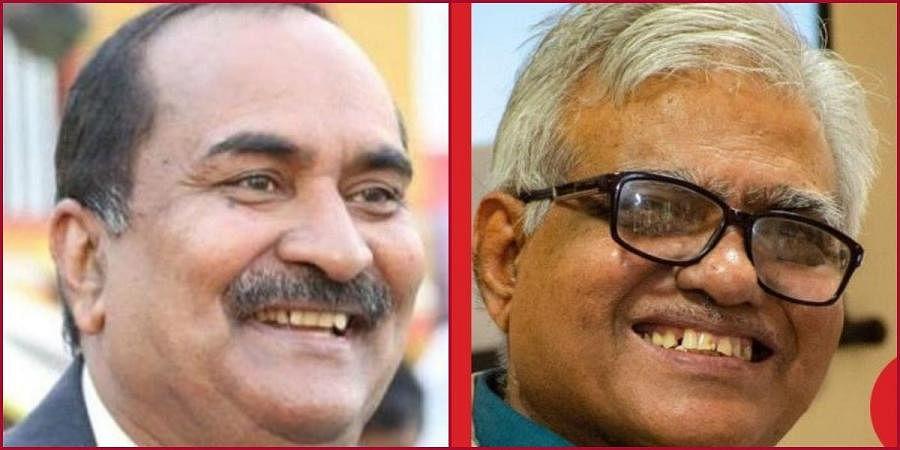 Odisha Tribal Research Institute director Dr AB Ota and IBRAD chairman SB Roy