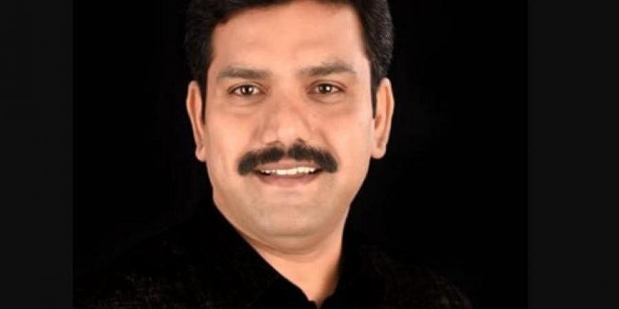 Vice president of BJP Karnataka unit, BY Vijayendra, son of Chief Minister BS Yediyurappa.