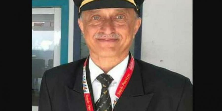 Captain Deepak Sathe, pilot of the Air India Express flight who died along with 17 others