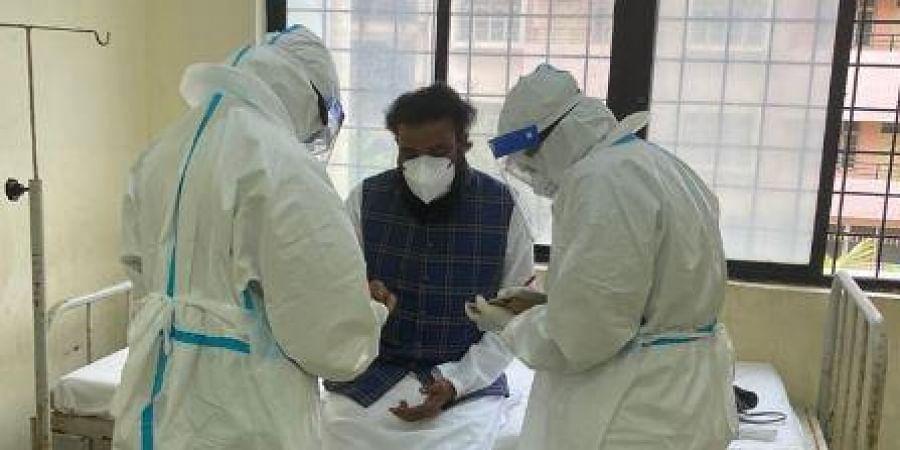 Karnataka Health Minister B Sriramulu.