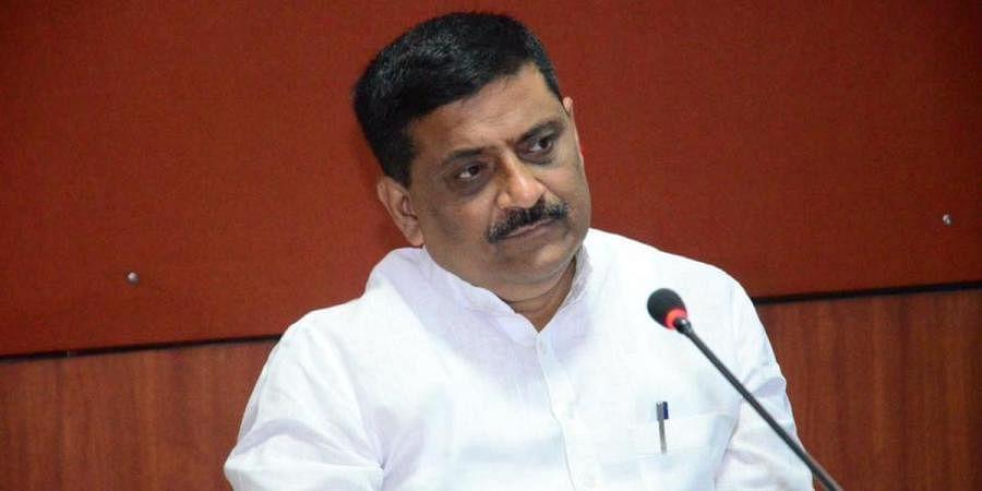Bihar Water Resources minister Sanjay Kumar Jha