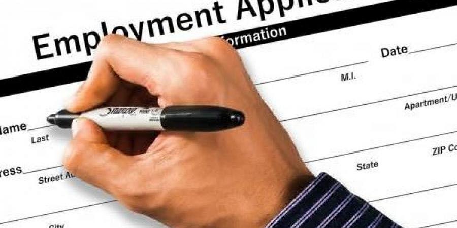 domicile certificate, job application
