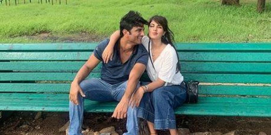 Late actor Sushant Singh Rajput and Rhea Chakroborty
