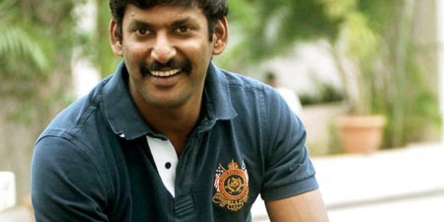 Actor Vishal. (EPS| P Anand Kumar)