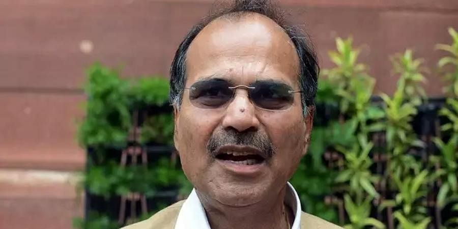 Leader of the Congress in the Lok Sabha, Adhir Ranjan Chowdhury