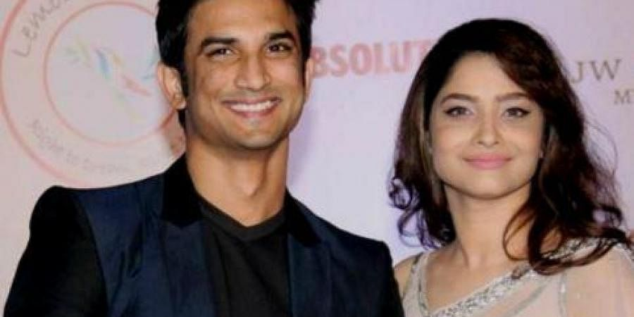 Late actor Sushant Singh Rajput with former girlfriend and actress Ankita Lokhande