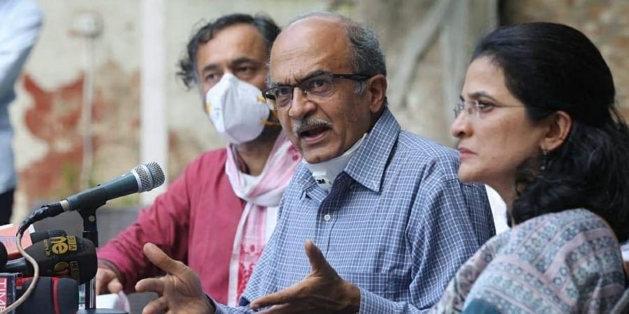Senior advocate Prashant Bhushan