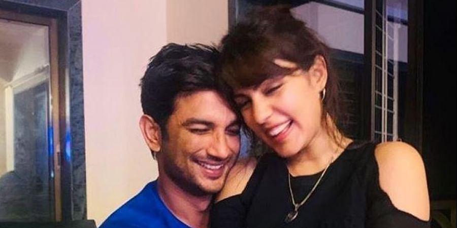 Late actor Sushant Singh Rajput and Rhea Chakraborty (Photo | Rhea Chakraborty, Instagram)