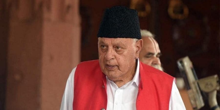 Srinagar MP Farooq Abdullah