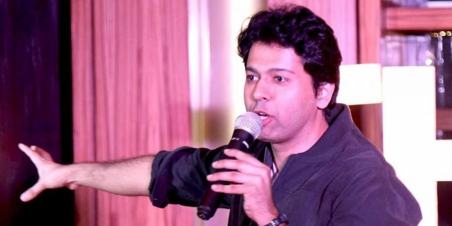 Standup comedian Saad Khan